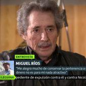 """Miguel Ríos, sobre la respuesta de la izquierda a Ayuso: """"Entrar con 'fascismo o democracia' es comprarle todas las papeletas para colocarla"""""""
