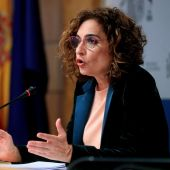 a ministra de Hacienda y portavoz del Gobierno, María Jesús Montero.
