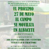 Asaja anima a la ciudadanía a movilizarse el próximo 27 de mayo para defender los derechos del sector agrario