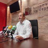 Despedida de Gregorio Sánchez Yébenes, concejal de IU Valdepeñas.