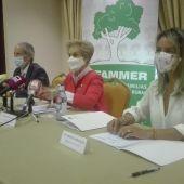 Retamero, Quintanilla y Carolina González durante la rueda de prensa en Ciudad Real