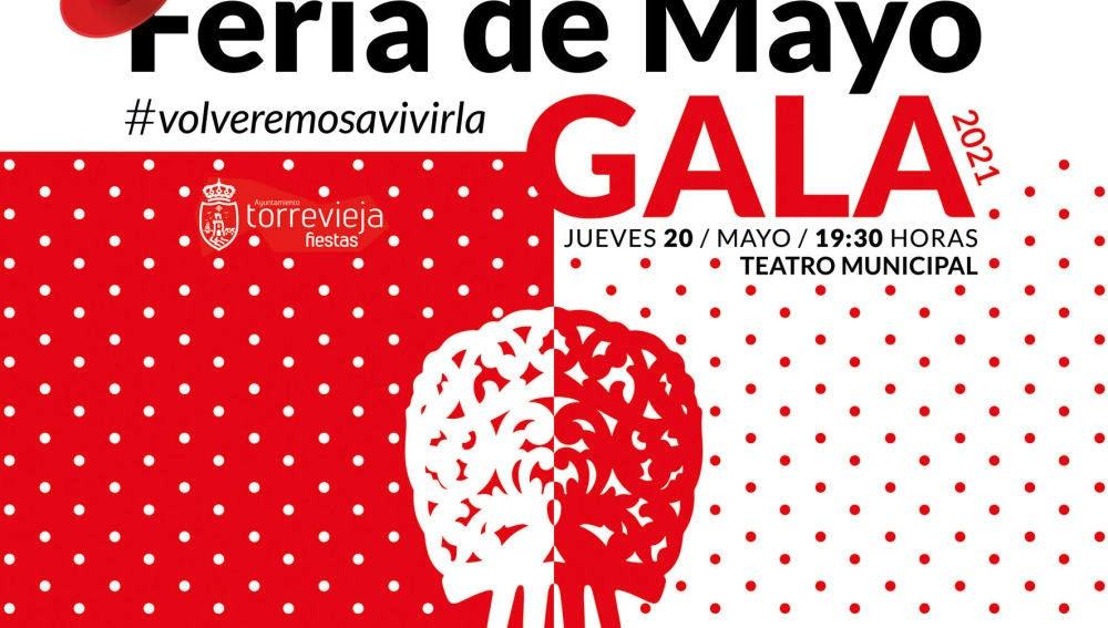 La gala tendrá lugar el 20 de mayo a las 19:30 horas, en el Teatro Municipal, con entrada gratuita hasta completar aforo
