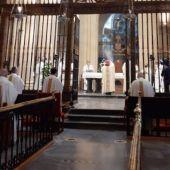 Han recibido homenaje los sacerdotes que han cumplido 60, 50 y 25 años de presbiterio, así como los fallecidos en el último año
