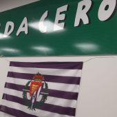 La Federación de Peñas del equipo blanquivioleta pide a los seguidores que engalanen sus balcones con banderas para que los jugadores sientan su aliento