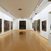 Una sala del museo bellas artes de Asturias