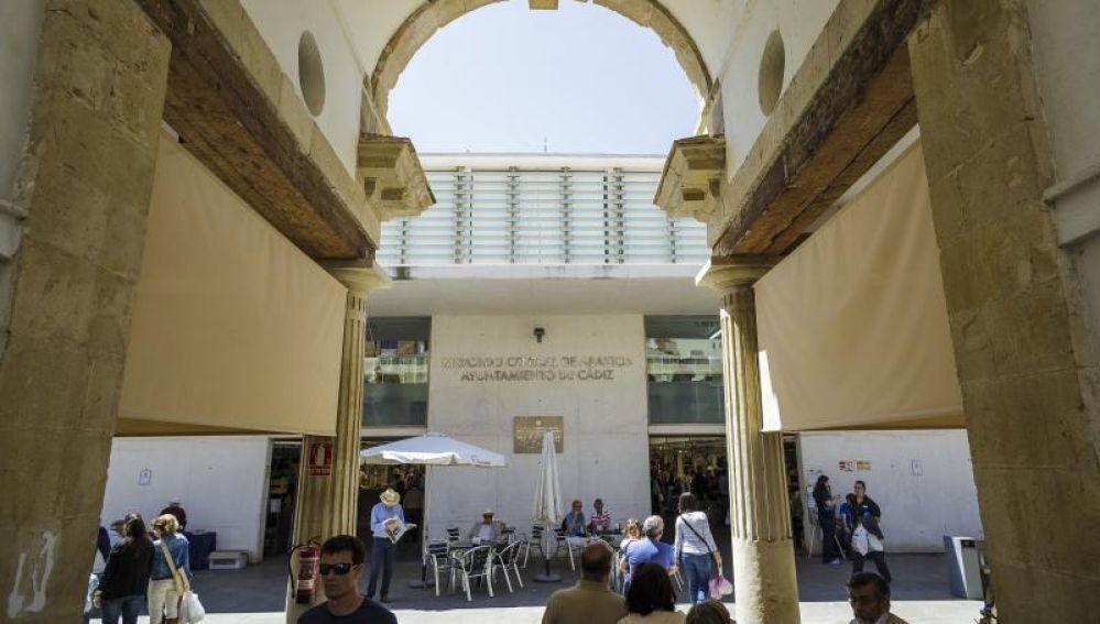 El Mercado de Cádiz en una foto de archivo