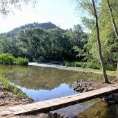 Río Henares a su paso por Alcalá de Henares