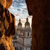Imagen de la iglesia de Olvera