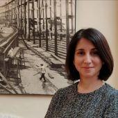 Elena Corrales, directora del NTC de Navantia en San Fernando