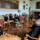 Reunión con empresarios italianos y españoles