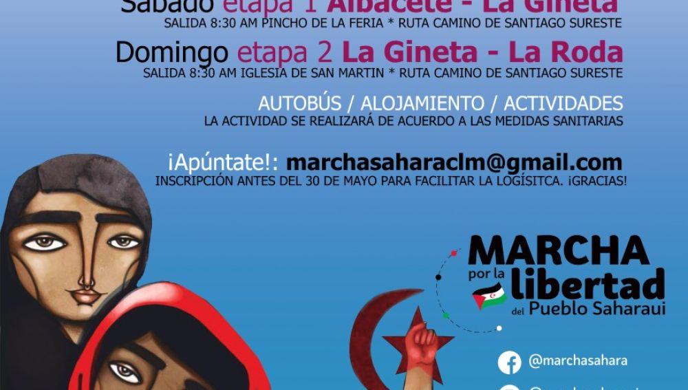 Albacete se suma a la Marcha por la Libertad del Pueblo Saharaui