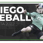 Diego Ceballos, futbolista del Racing