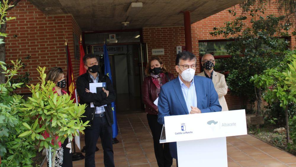 Diego Pérez, delegado provincial de Educación, Cultura y Deporte en Albacete