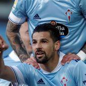 Nolito, jugador del Celta de Vigo