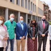 Las autoridades han visitado el Centro de Salud II de Ciudad Real