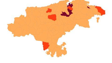 Situación de municipios cántabros con el nuevo modelo sanitario