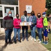 El Club Deportivo El Porvenir recaudó 500 euros