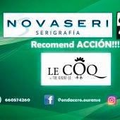 Recomend ACCION!!! con  Le Coq
