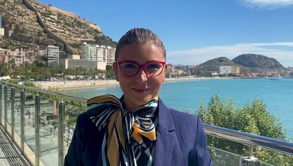 La vicealcaldesa y concejala de Turismo, Mari Carmen Sánchez