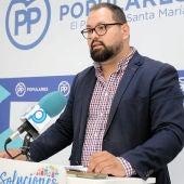 Javier Bello, portavoz del Gobierno de El Puerto y portavoz del PP