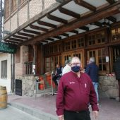 Santiago Rubio, gerente Restaurante Los Mellizos