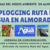 El próximo 29 de mayo, desde la Concejalía de Turismo del Ayuntamiento de Almoradí, organizamos el 1º Plogging Ruta del Agua de Almoradí
