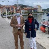 Pumares y Bode hoy en la zona del puerto