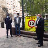 Ningún fallecido en accidente de tráfico en Albacete en 2020 gracias al límite de velocidad de 30 km/h