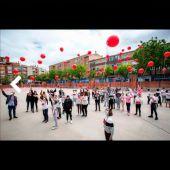 Los Guachis y dos colegios de la capital celebran el Día del Niño Hospitalizado