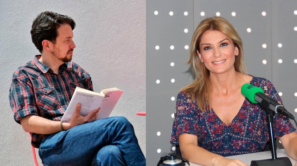 """Sandra Golpe, sobre el cambio de look de Pablo Iglesias: """"Es un recurso muy femenino, un cambio radical cuando te han pasado cosas fuertes"""""""