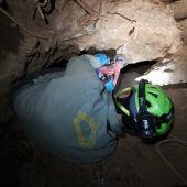Rescatado el cuerpo del espeleólogo en Riópar