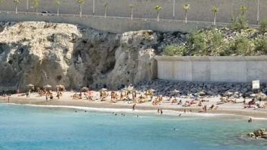 Playa de la Alcazaba, Melilla