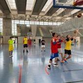 Concentración de las selecciones regionales de baloncesto y fútbol sala de FECAM en el Vicente Paniagua