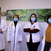 Miembros de la Unidad de Epilepsia del Hospital Virgen Macarena