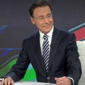 El sorprendente momento de Matías Prats: tararea en directo la canción que ganó Eurovisión cuando fue presentador del jurado