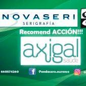 Recomend ACCION!!! con Axigal Saúde