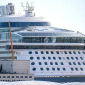 El megacrucero 'Odyssey of the Seas', en una imagen de archivo