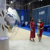 Isabel Piñero, responsable de la división de sostenibilidad de Grupo Piñero, junto a la periodista de Onda Cero Elka Dimitrova
