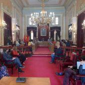 Pleno extraordinario en el Ayuntamiento de Alcalá de Henares