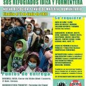 Arranca en Ibiza una nueva campaña de ayuda a los refugiados de Grecia