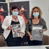 La alcaldesa de funciones de la localidad murciana, Elena José Lozano anuncia que Rojales recibirá el premio de difusión del flamenco