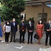 El embajador de Cuba aborda proyectos de cooperación internacional con el presidente de la Diputación de Badajoz