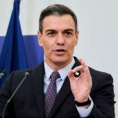 Pedro Sánchez tras la reunión del Consejo Europeo