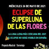 Desde Proyecto Mastral nos explican la fase llena de la luna y el eclipse que tendrá en nuestro planeta