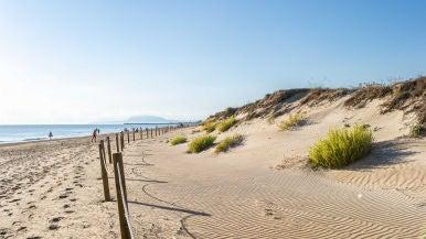 Playa Terra Nova en Oliva, Valencia.