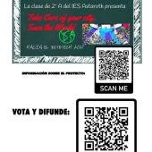 Cartel para votar