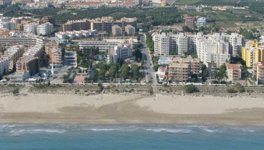 Playa Racó de Mar en Canet d´En Berenguer, Valencia.
