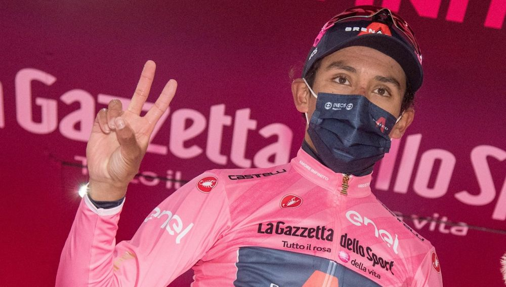 Egan Bernal gana el Giro de Italia