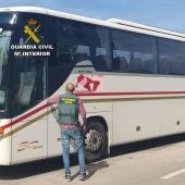 Tres inventigados por el robo de un autobús en Alcorisa