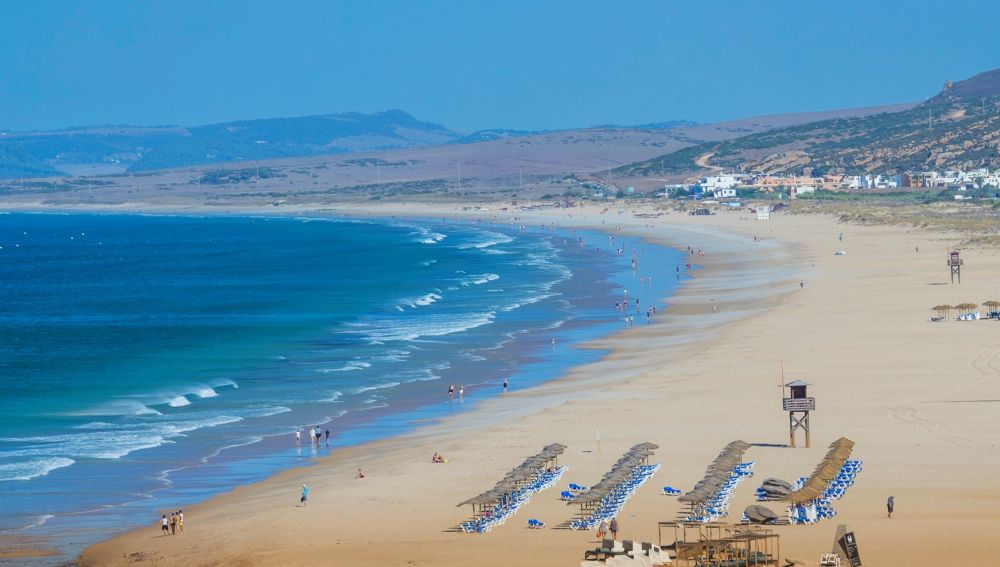 La playa de Zahara de los Atunes, en Barbate